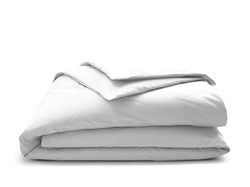 True Certified Organic 350 Thread count DUVET COVERS Soft and Luxurious -Queen White