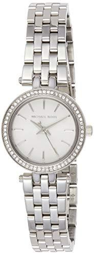 Michael Kors Women's Darci Silver-Tone Watch MK3294 (Michael Watch Kors Rhinestone)