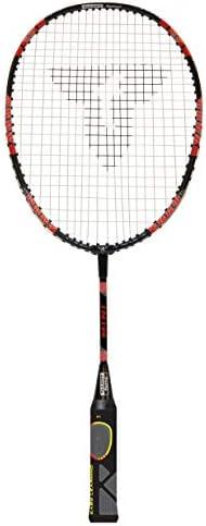 DaMohony Badminton Racket Racquet Set,Durable Ferroalloy Badminton Racket for Kids Training Practice. Pink