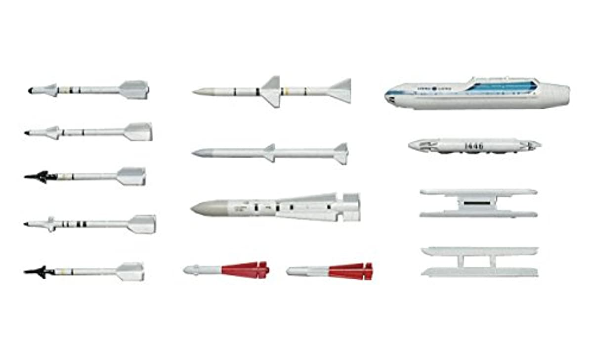 [해외] 하세가와 1/72 미국 공군 에어 크래프트 웨폰III 프라모델  X72-3