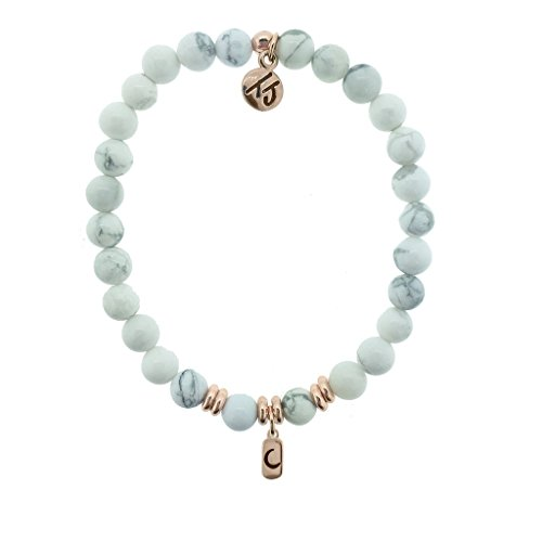 howlite-beaded-bracelet-with-inspiration-charm-love-moon-charm