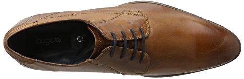 bugattiR26071W - Derby Hombre Marrón - marrón (cognac 644)