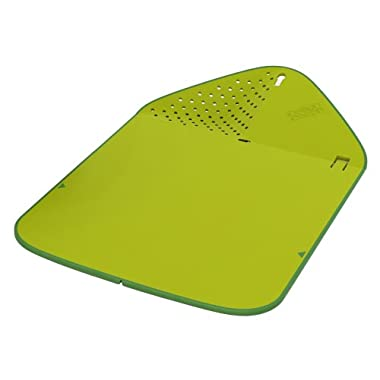 Joseph Joseph Rinse and Chop Plus Cutting Board, Green