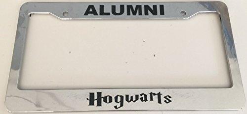 Alumni Hogwarts Harry Potter License Plate Frame