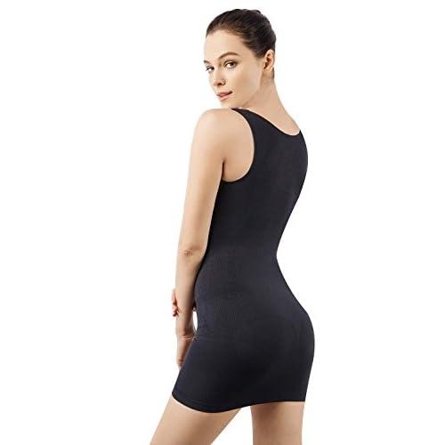 b86826413d MD Women s Shapewear Nylon Short Full Length Firm Control Slip Body Shaper  low-cost