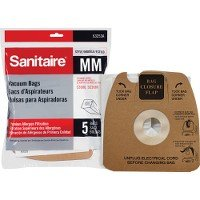 Type MM Sanitaire Vacuum Cleaner Replacement Bag (5 (5 Pack Replacement Bags)
