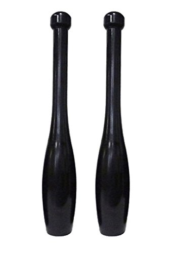 Apollo Athletics Iron Power Clubs - 15 lb. Indian Clubs (Pair) - Exercise Bats by Ironcompany.com