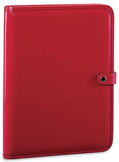 Jack Georges Milano Collection Letter Writing Pad Cherry by Jack Georges