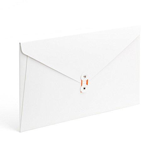 (Poppin Soft Cover Envelope Folio (WHITE BLANC))