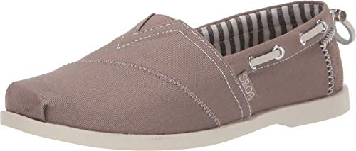 Skechers BOBS from Women's Chill Luxe - Traveler Dark Taupe 6 B US