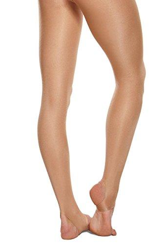bbdd4fff4bcd4 Capezio 1881 Stirrup Shimmer Dance Tights Women and Girls - Buy ...