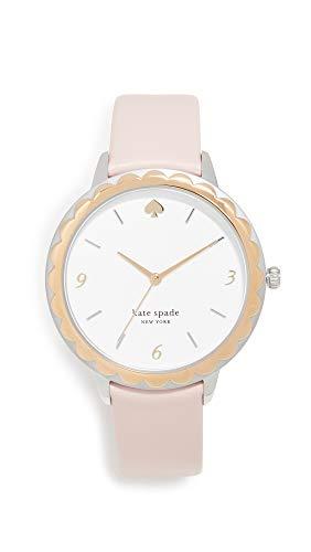 Kate Spade New York Women's Scallop Watch, 38mm, Blush, Pink, One Size