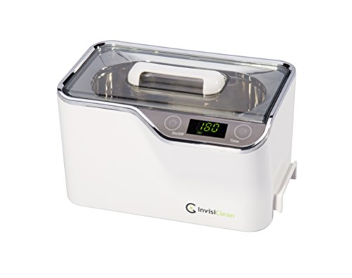 Elite Ultrasonic Jewelry Cleaner - Professional Quality Cleaner for Jewelry, Watches, Gold, Platinum, Diamonds, Eyeglasses, Sunglasses, Dentures, Coins, Metal Parts, Gun Parts, and Gears - 600ml Tank (Jewelry Ultrasonic Cleaner Basket)