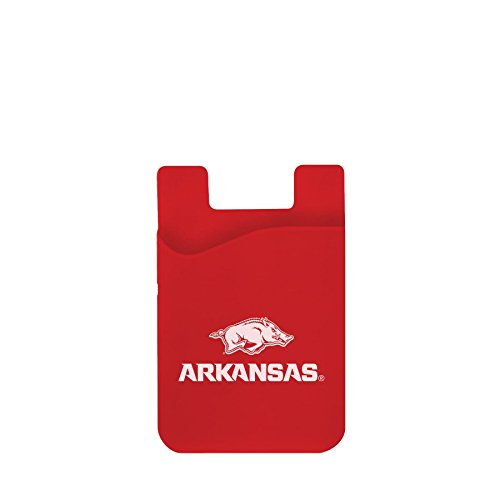 Razorbacks Arkansas Credit Card - Neil Varsity Arkansas Razorbacks Cell Phone Card Holder