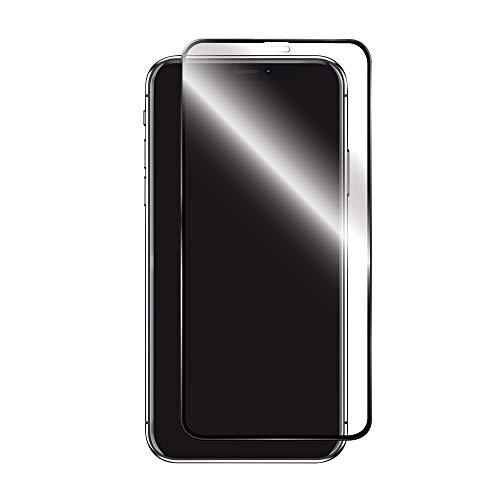 iPhone XS Max 「PTEC」 9H 全画面フィルム 高光沢/ブラック LP-MIPLPCFLGBK