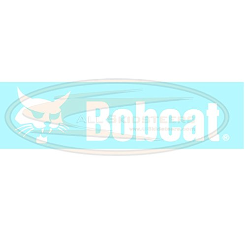 Back Door Decal for Bobcat Skid Steers | Replaces OEM # 6735901 by All Skidsteers
