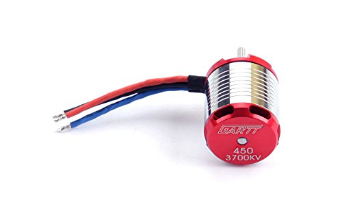GARTT 3700KV 330W Brushless Motor For 450 Align Trex RC (Helicopter Brushless Motor)