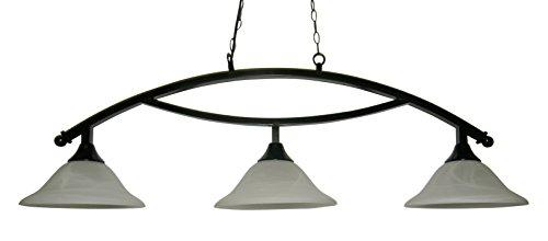 Glass Pool Table Light Lamp - 1