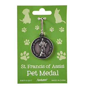 US Gifts St. Francis Pet Medal - 12/pk