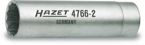 Llave de buj/ía Hazet 4766-2 14 mm, cuadrado interior de 10 mm