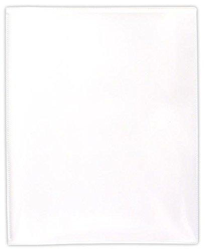 StoreSMART White Plastic Archival Folders 100-pack - Letter-Size Twin Pocket - (R900W100)