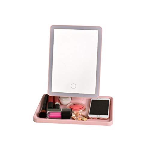 Makeup mirror Led Touch Sensor Light 360 Degree Rotating HD Vanity Mirror -