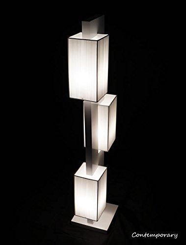 New Pure White Handmade Modern Contemporary Floor Lamp Zk...