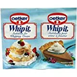 Dr. Oetker U Whip-It 2-Pak by