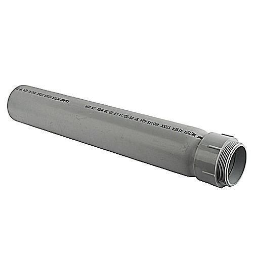 Thomas & Betts E954JXX Gray PVC Slip Meter Riser 2 inch Carlon ()