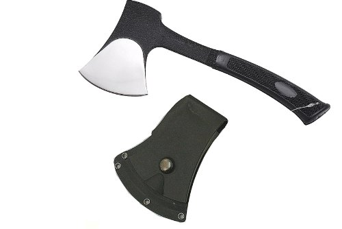 Lastworld 11 Black Tactical Axe With Sheath Black Handle