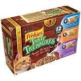 Friskies Wet Tasty Treasures Variety-Pack Cat Food, 12-Pack(Pack Of 4) Review
