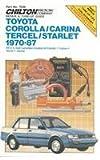 Toyota Corolla Carina, Tercel, and Star, 1970-87 (Chilton model specific automotive repair manuals)