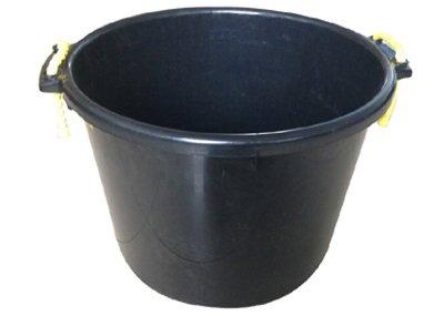 QINGDAO HUATIAN HAND TRUCK MR40QP/TUB-BLK MR 40QT BLK Muck Tub