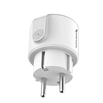 Yuadon Electric Wifi IFTT Smart Plug Socket European Compatible with Amazon Alexa Echo Google Home Assistance and Energy Monitor Timer Available