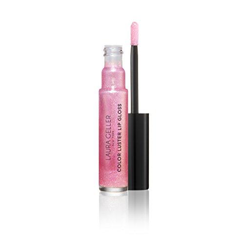 Lip Gloss Top - Laura Geller New York Color Luster Lip Gloss Hi-def Top Coat, Pink Sapphire