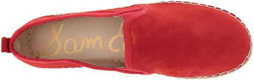 Women M Edelman 10 Black Candy Red Women's US Slip Sam Carrin Ons zwxTRxq0