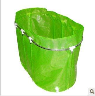 Amazon.com: Adult stainless steel folding bath crock/bath bucket ...
