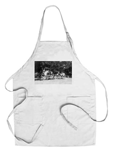 Sonoma County, California - Off for a Carriage Ride View (Cotton/Polyester Chef's Apron)