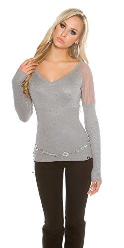 In-Stylefashion - Sudadera - para mujer gris