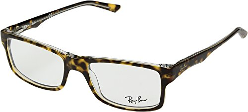 Ray-Ban Unisex 0RX5245 52mm Havana/Transparent One - Ban Measurements Ray