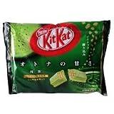 Cheap Japanese green tea (kitkat bag 12 mini pack inside) net wt. by japanese kitkat 144 g