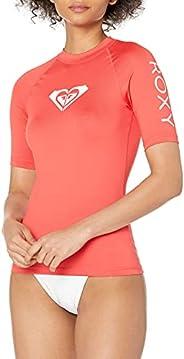 Roxy Womens Whole Hearted Short Sleeve Rashguard