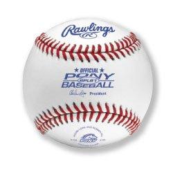 - Rawlings Raised Seam Baseballs, Pony League Competition Grade Baseballs, Box of 12, RPLB1