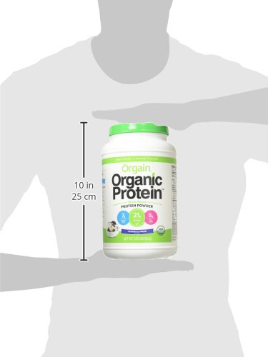 Orgain Organic Plant Based Protein Powder, Cookies & Cream, Vegan, Non-GMO, Gluten...