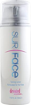 2010 Surface Indoor tanning bed lotion for the Face 5oz