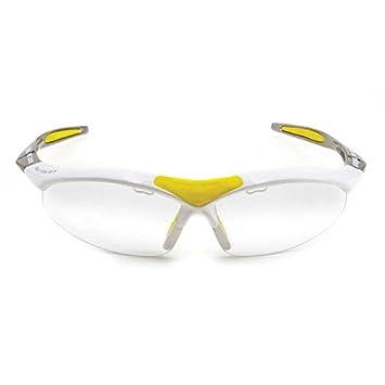 Karakal Pro 3000 Eyeguard Unisex, Color Blanco/Amarillo: Amazon.es: Deportes y aire libre