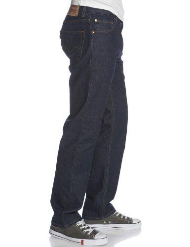 Levi's Men's 505 Regular Fit Jean, Rinse, 34x29