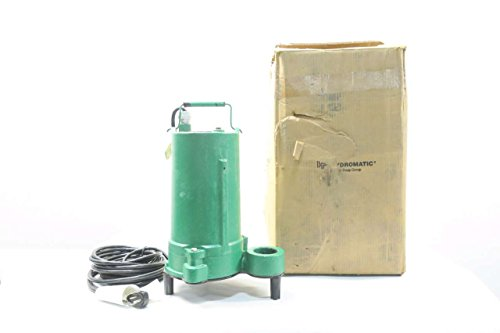 Hydromatic Submersible - HYDROMATIC SHEF50A1-2 SUBMERSIBLE PUMP 2IN NPT 115V-AC 1/2HP D567248