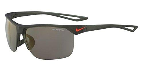 Nike EV1013-301 Trainer R Sunglasses (Frame Grey with Triflection Copper Lens), Matte Cargo - Sunglasses R