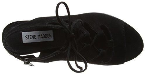 Steve Madden Nilunda SM - Sandalias Mujer Negro